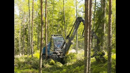 ROTTNE H8: Market-leading harvester for stand operating thinning, Rottne Industri AB